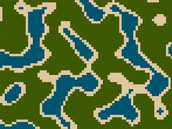 Dynamic and Repeatable Tilemap Generation with Noise